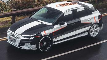 Megmutatták az új Audi S3-ast – álcázva