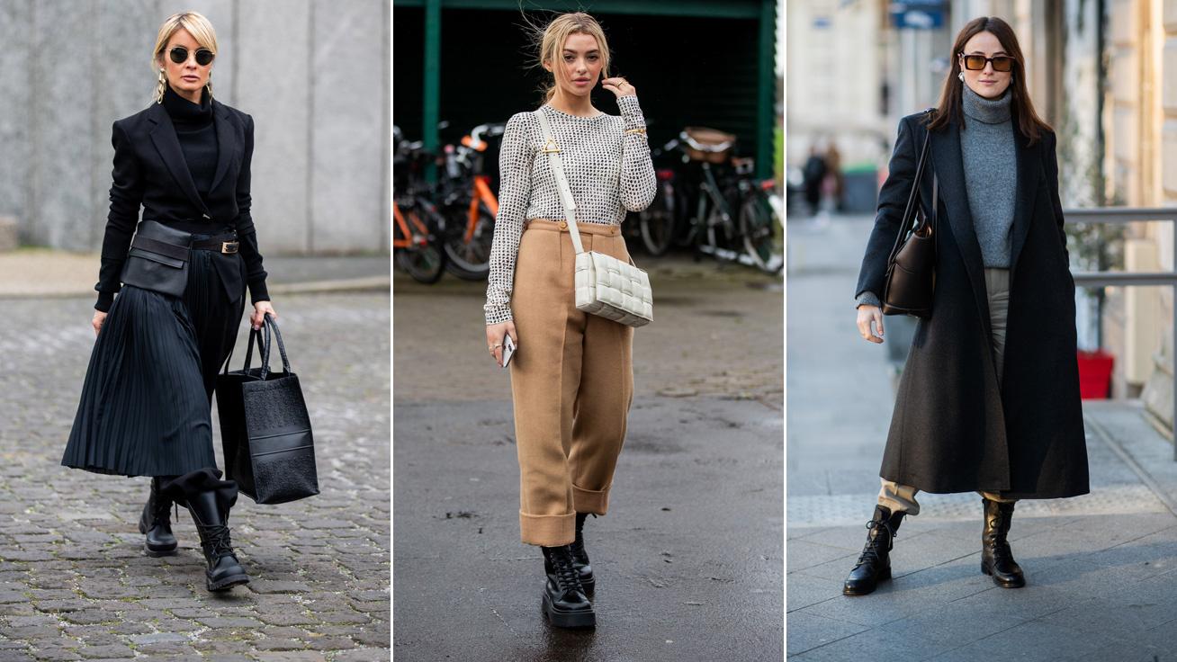 Milyen cipőt kell viselni klasszikus nadrággal télen. Téli