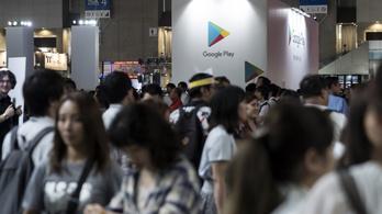 Kína odacsap a Google Play Áruháznak