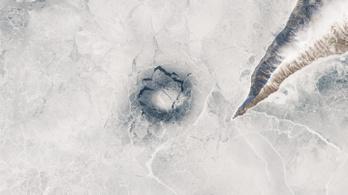 Titokzatos örvények okozhatják a Bajkál-tó rejtélyes jégköreit