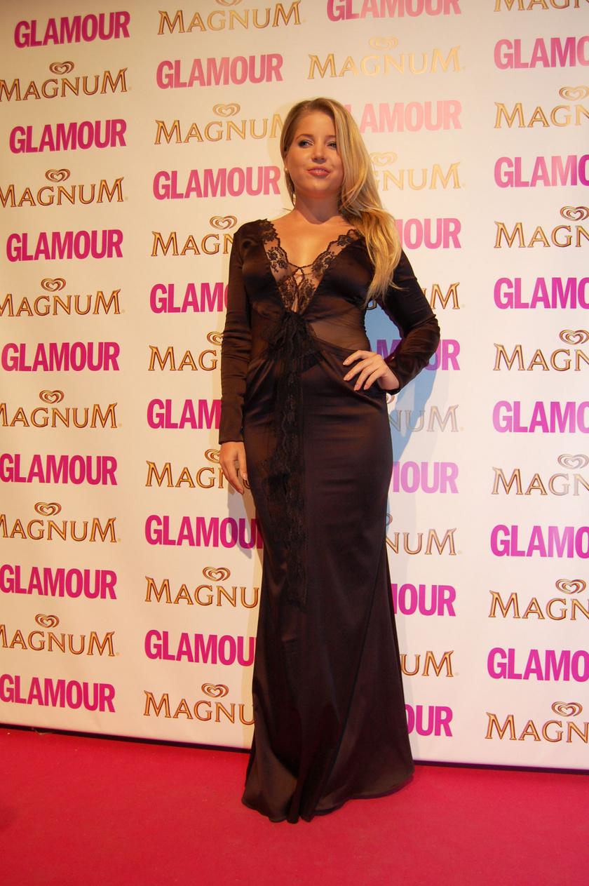 Szabó Zsófi a 2013-as Glamour-gálán.
