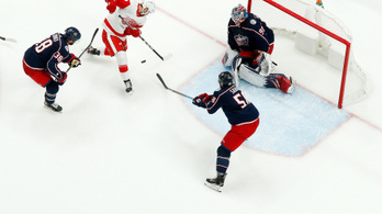 A Detroit sem tudott gólt lőni az NHL új csodakapusának