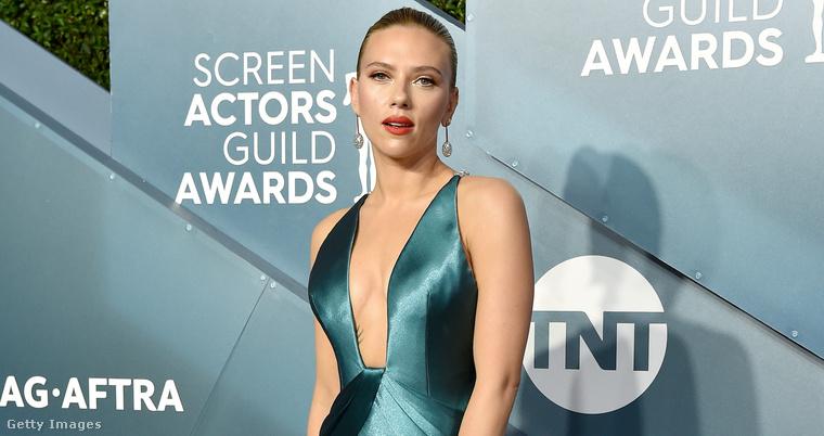 Scarlett Johansson az SAG-gálán január 19-én.