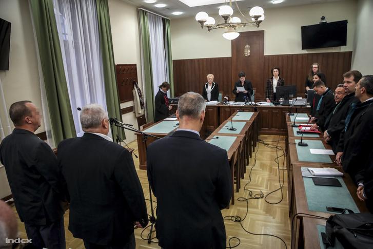2018. októberi ítélethirdetés a Buda-cash-perben