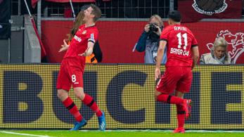 Az őrült fordulatok meccsén a Leverkusen legyőzte a Dortmundot