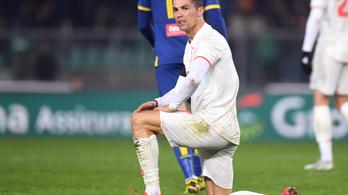 Hiába Cristiano Ronaldo csodagólja, a Juventus kikapott Veronában