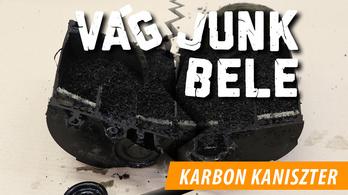 A karbon kaniszter titka – Vágjunk bele!