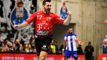 A Veszprém simán nyert, a Szeged értékes döntetlent játszott a kézi-BL-ben
