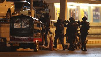 Lelőtték a lövöldöző thaiföldi katonát
