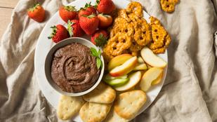 Próbáld ki a kedvenced isteni, egészséges változatban: csircseriborsó-nutella