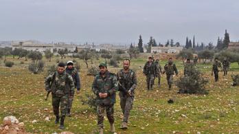 Nagy területeket foglaltak vissza a kormányerők Idlibnél és Aleppónál