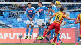 Hatalmas szabadrúgásgól okozta a Napoli vesztét