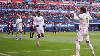 Döcögős kezdés után simán nyert a Real Madrid