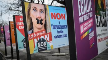 Betiltották Svájcban a homofóbiát