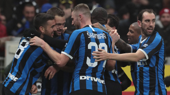 2-0-ról fordítva nyert az Inter a milánói derbin