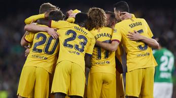 Három percen belül két kiállítás volt a Betis és a Barcelona őrült meccsén