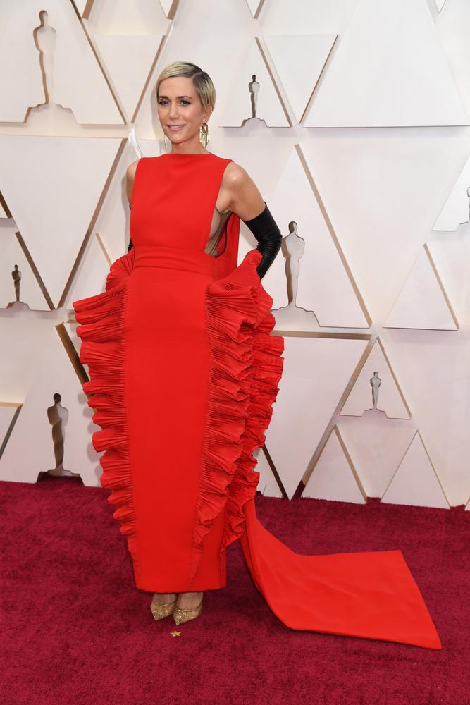 Lehet, hogy valakinek elnyerte a tetszését Kristen Wiig ruhája, de mi biztosan nem vagyunk köztük