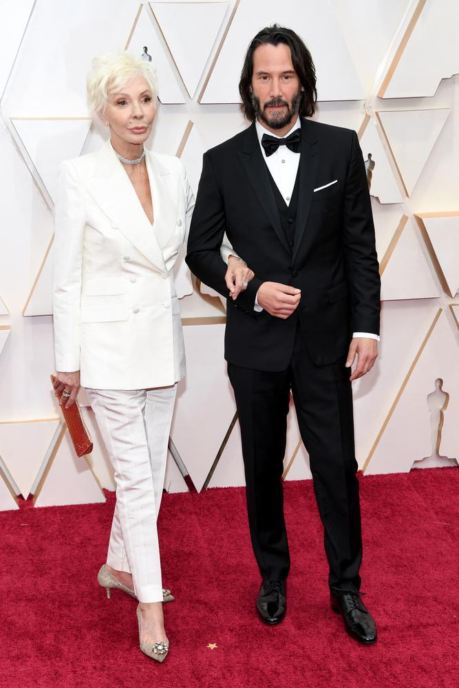 Itt pedig egy másik páros: Keanu Reeves és édesanyja, Patricia Taylor
