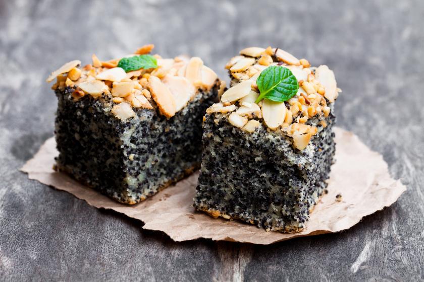 Isteni mákos-mandulás süti liszt nélkül: csak keverd össze, és mehet a sütőbe