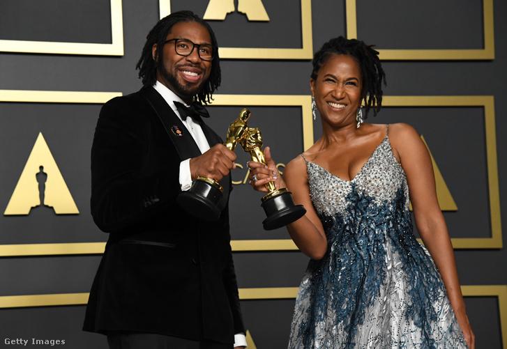 A Hair Love-val Oscar-díjat nyerő Matthew Cherry és Karen Rupert Toliver