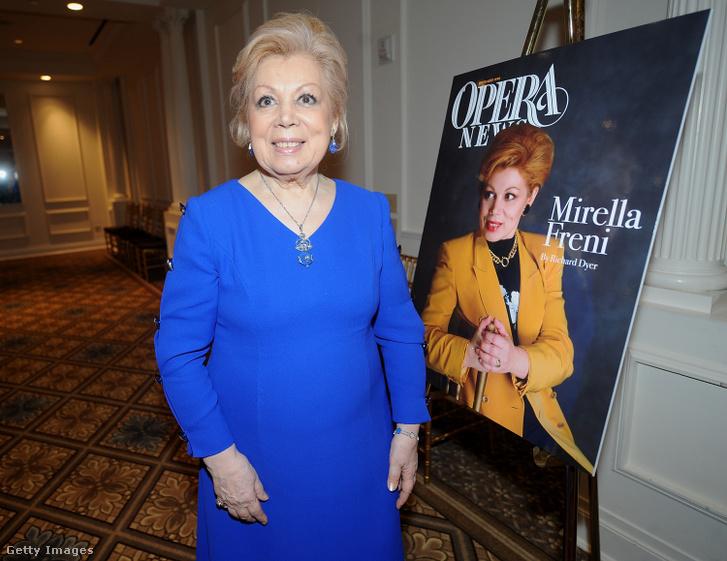 Mirella Freni 2013-as Opera News Awards rendezvényen New Yorkban