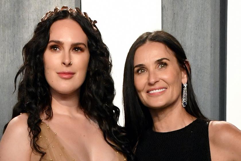 Demi Moore lánya melleivel ellopta a show-t - Az Oscar-afterparti legdögösebb sztárja volt