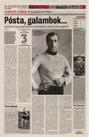 Nemzeti Sport, 2008. július (106. évfolyam, 178-208. szám)