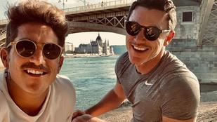 Luke Evans bemutatta az Instagramon a szerelmét