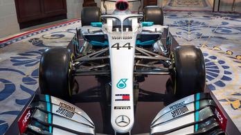 Bordó színnel dobták fel 2020-ra a Mercedes F1-kocsiját