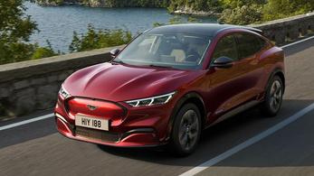 Először Európa kapja meg a villany-Mustangot