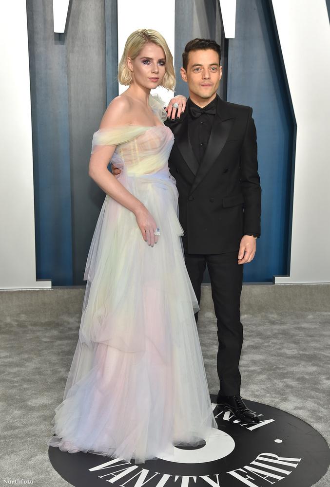 Rami Malek és Lucy Boynton a Bohém rapszódia című film forgatásán jött össze, kettejük közül az előbbi volt tavaly a legjobb színész kategória győztese.