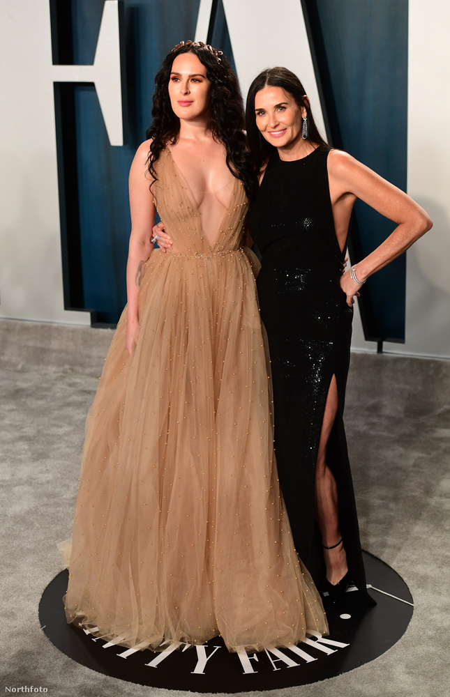 És egy anya-lánya párt hagytunk a végére, ők Demi Moore és Rumer Willis
