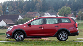Dacia Logan MCV Blue dCi 95 Stepway Techroad – 2020.