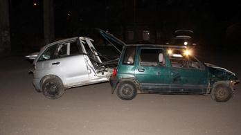 Egyszerre másfél autót loptak a rákospalotai mestertolvajok