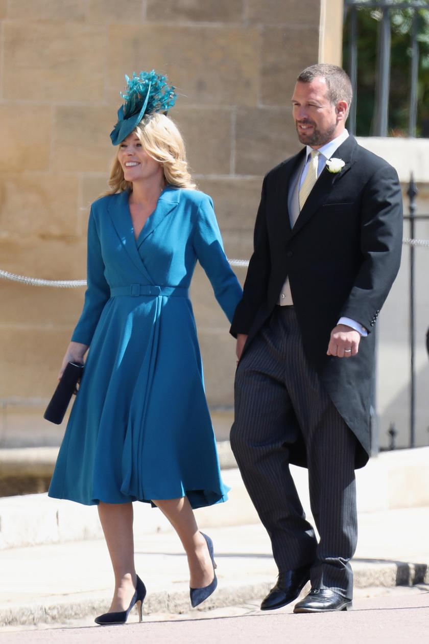 2018-ban, Harry és Meghan esküvője napján kéz a kézben kapták le őket.