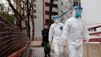 Koronavírus: 1016 halott, 1 százalék lehet a valós halálozási ráta