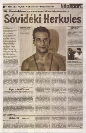 Nemzeti Sport, 2018. július (116. évfolyam, 191-206. szám)