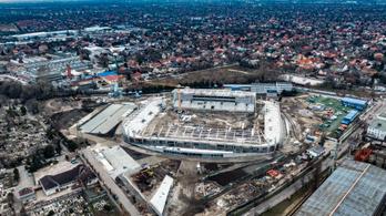 Már formálódik a Honvéd stadionja is