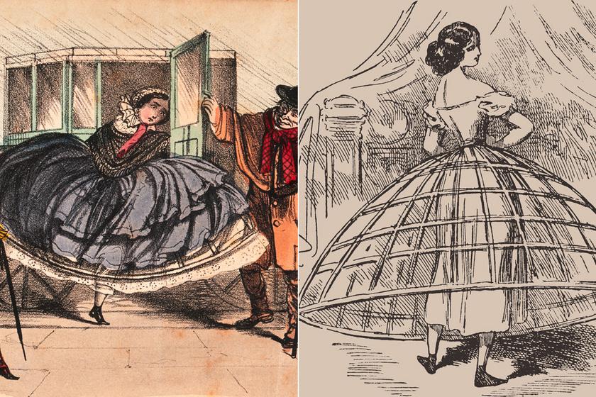 Rengeteg nő halálát okozta ez a szoknya a viktoriánus korban: fájdalmas és veszélyes volt, mégis mindenki ezt viselte