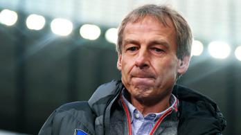 Klinsmann lemondott a Hertha edzői posztjáról