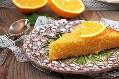 Illatos, narancsos polentatorta: glutén- és laktózmentesen is készíthető