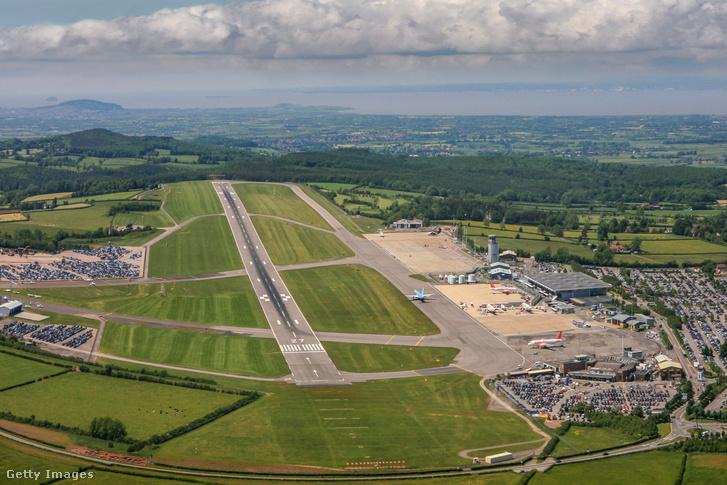Bristoli reptér légi felvétele