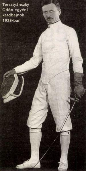 Tesztyánszky Ödön 1928-ban. Forrás: Magyar Nemzet 2008. április / Arcanum adatbázis