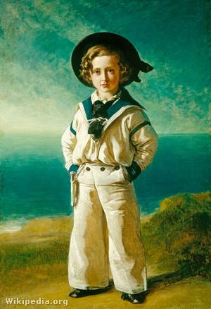 Franz Winterhalter: Albert Eduárd walesi herceg (1846)