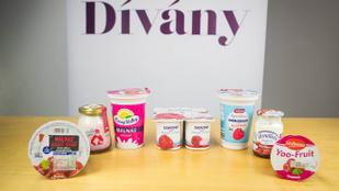Málnás joghurtok tesztje: győzött a papírforma