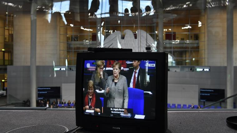 Megint minden Merkel utódlásáról fog szólni