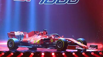 F1: nagy show-val jött a 2020-as Ferrari