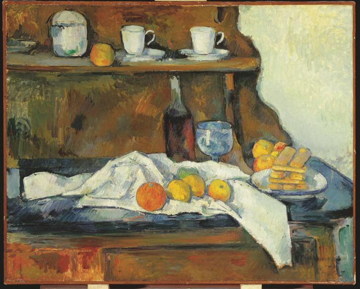 Paul Cézanne: A tálaló, 1877–79