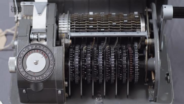 A Crypto egyik kódológépe