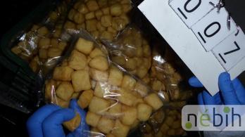 Rágcsálóürülék és rozsda között készült a tofu